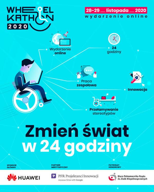 WheelKathon 2020 - plakat