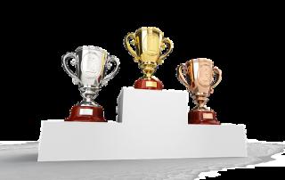 3 puchary dla zwyciężcy
